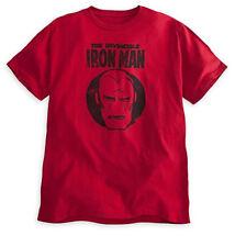 Disney Store Authentic Iron Man Avengers Super Hero Mens T Shirt Size L XL XXL