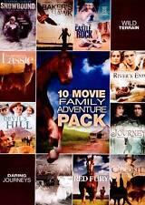 10-Film Family Adventure Pack Burl Ives, Paul Kelly, Ernest Borgnine, Neil Patr
