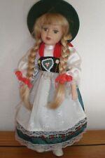 Sammlerpuppe Porzellanpuppe Porzellan-Puppe Markung C.P. CR Gretel Catterfelder