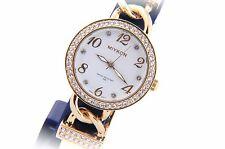 Crystal Collection dress Bracelet watch with Enamel Chain Link Bracelet MIYKON®