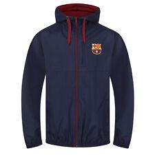 FC Barcelona - Chaqueta cortavientos oficial - Para hombre - Impermeable