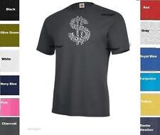 Money Sign T-Shirt  Dollar  Cash Symbol Shirt  SIZES S-5XL