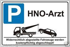 Hinwesschild,Halteverbot,Parkverbot,Schild,Parken,Privatparkplatz,HNO-Arzt P164+