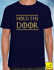 Non chiuda T-shirt Hodor Game of Thrones House 7 stagione invernale STARK creste