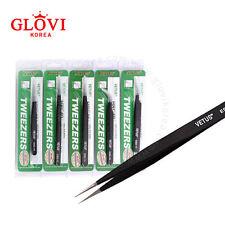 VETUS ESD Tweezers Series /Durable, Anti-static, Delicate Eyelash Extension Tool