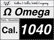 1 PC Omega 1040 Parts Vintage Genuine Original New NOS Speedmaster Seamaster 2/4