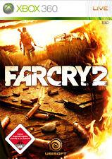 Far Cry 2 (Microsoft Xbox 360, 2008, DVD-Box)