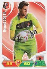 BENOIT COSTIL STADE RENNAIS.FC TRADING CARDS ADRENALYN PANINI FOOT 2013