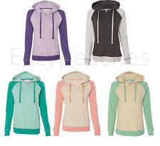 Weatherproof Ladies Reese Hoody, Hoodie, Raglan, Hooded Sweatshirt, Womens S-2XL