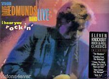 SEALED*1987*THE DAVE EDMUNDS BAND* LIVE* I HEAR YOU