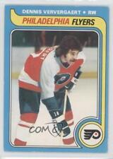 1979-80 O-Pee-Chee #214 Dennis Ververgaert Philadelphia Flyers Hockey Card