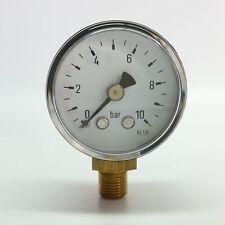 """Manometer Ø40mm  G1/8"""" unten,  - alle Messbereiche -"""