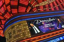 Donny And Marie Osmond Neon Sign Flamingo Hotel Las Vegas America Photograph
