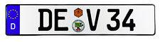 Dessau German License Plate by Z Plates
