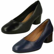 Ladies Clarks Court Shoes Un Cosmo Step