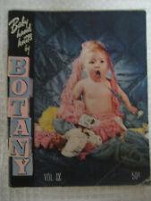 Vtg 1946 Baby Knitting Pattern Book Botany Worsted Mill