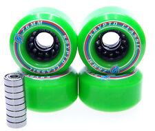 Longboard Reel kryptonics Classic 76mm/82A Abec Bearing Set Roll Green