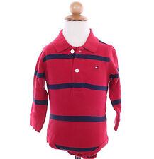 Tommy Hilfiger Children Little Boy Baby Stripe Long Sleeve Polo Bodysuit $0 Ship