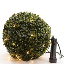 Guirlande lumineuse pour boules en buis par piles 35cm, 50cm ou 80cm