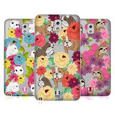 Funda HEAD CASE DESIGNS Patrón Floral y de animales caso De Gel Suave Para Teléfonos Samsung 2
