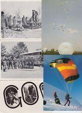 PARACHUTE JUMPING PARACHUTES Military 39 Vintage Postcards pre-1970
