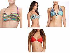 NWT Nanette Lepore Womens Bikini Top Multi Styles & Sizes