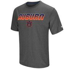 "Auburn Tigers Shirt Men's Dry-Fit ""Sleeper"" T-Shirt Colosseum Grey"
