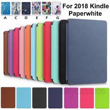 Flip Cover für Amazon Kindle Paperwhite 10th 2018 6.0 Zoll Schutz Hülle Tasche