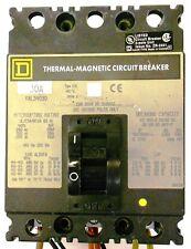 Square D Thermal-Magnetic Circuit Breaker Fal34030, Series 2, Type Fal