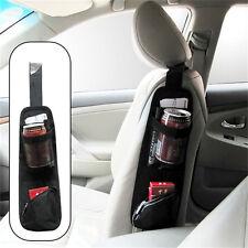 Car Seat Side Multi Pocket Pouch Organizer Travel Storage Bag Bottle Holder SEAU