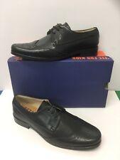 Petasil Arthur Boys/Yth Classic Brogue School Shoes In Black ( Sizes 34-44)