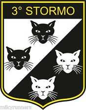 Stickers Adesivo 3° Stormo  Aeronautica Militare italiana (Araldica-Militaria)