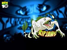 Ben 10 Ripjaws Alien Cartoon TV Series Art Huge Print POSTER Affiche