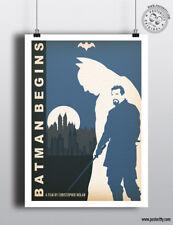 Batman Inicia (Caballero de la noche trilogía) Cartel De Cine Minimalista posteritty mínima