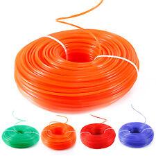 215m/100m Fil de Nylon pour Débroussailleuse forme diamètre au choix #ot51