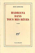 RENE DEPESTRE / HADRIANA DANS TOUS MES REVES / NRF