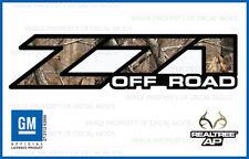 01 - 06 Chevy Silverado Z71 Off Road decals Realtree AP Camo stickers 1500 2500