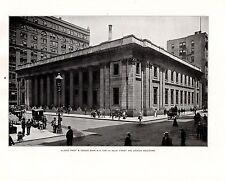Película para impresión 1898 Chicago ~ Illinois confianza y caja de ahorros ~ N.E. Cor. la Salle St