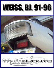 weisse LED Heckleuchte Rücklicht Honda CBR 600 PC25 PC31 F2 F3 clear tail light