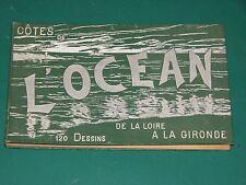 Vingt jours sur les côtes de l'Océan Loire Gironde constant de TOURS 125 dessins