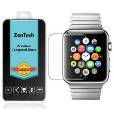 2X ZenTech® Tempered Glass Screen Protector Guard For Apple Watch 38 & 42 mm