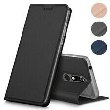 Nokia 7.1 Téléphone Portable Rabattable Étui Pochette Coque Étui à Clapet