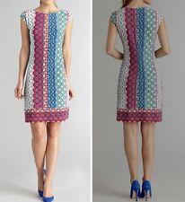 MW007684 - DESIGNER MULTICOLOUR JERSEY SILK DRESS (#569)