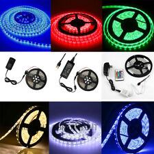 5M 300Leds 3528/5050 SMD White/Red/Green/Blue/RGB LED Strip Light / 12VDC Power