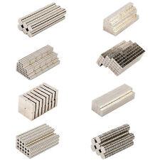 hält 1.0 Kg starker Stabmagnet 1 bis 100 Neodymstabmagnet 4x25 mm N45 Nickel