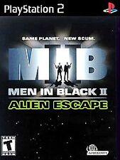 Men in Black II: Alien Escape (Sony PlayStation 2, 2002) GOOD