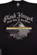 PINK FLOYD-PALACE THEATRE-DARK SIDE OF THE MOON-BLACK TSHIRT  M, 2XL, 6XL