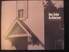 ANN ARBOR ARCHITECTURE USA MICHIGAN ETATS UNIS 1974 EO