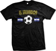 El Salvador National Soccer Team La Azul y Blanco Futbol Deporte Mens T-shirt