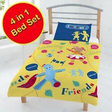 IN THE NIGHT GARDEN 4 IN 1 JUNIOR COT BED BEDDING BUNDLE DUVET COVER SET